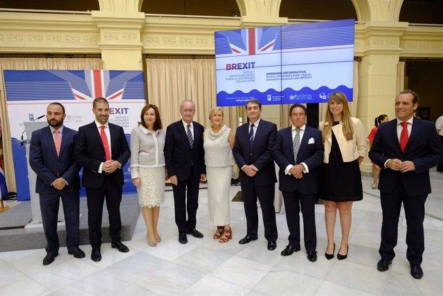 Jornada sobre el 'brexit' en la economía malagueña de la torre martín rojo