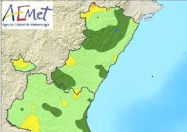 La Comunitat registra un septiembre con 1,1 grados superior a lo normal y poco más de la mitad de las lluvias