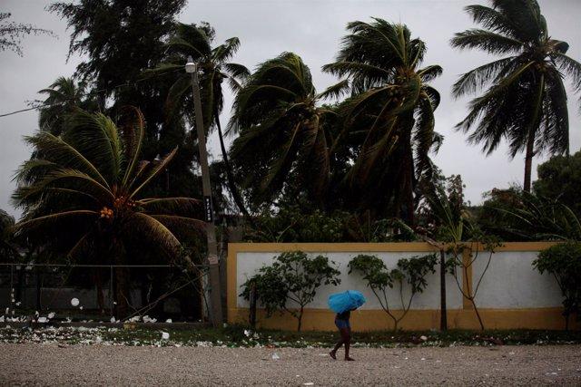 Efectos del huracán 'Matthew' en Haití