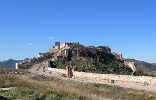 Castillo de Sagunto (Valencia) en 2013