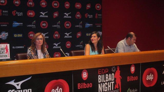 Presentación del EDP Bilbao Night Marathon