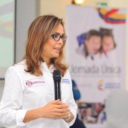 Ministra de Educación de Colombia Gina Parody