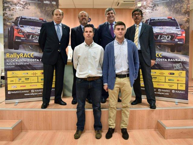 Carlos Gracia y Miguel Cardenal en presentación del RACC 2016