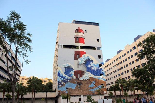 NP Y Fotografía La Ruta De Murales Artísticos De Estepona Incorpora Una Obra Que