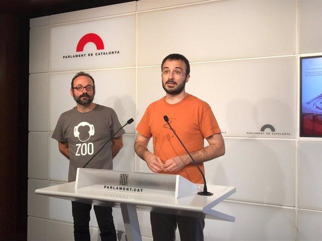 Benet Salellas y Albert Boteán, CUP