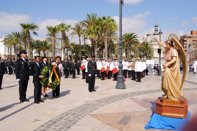 Acto patrón Policía Nacional en Cartagena