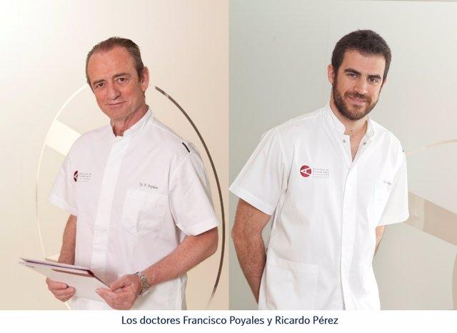 Doctores Francisco Poyales y Ricardo Pérez
