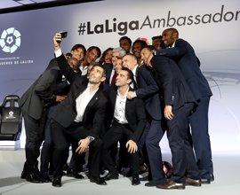 Xavi Hernández, Kiko y Villa se incorporan como Embajadores de LaLiga