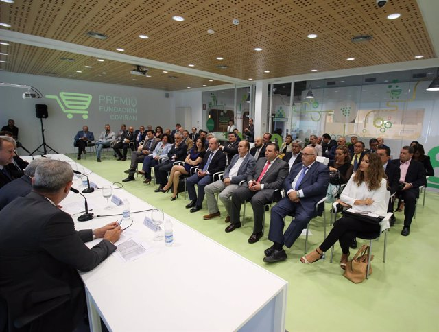 Acto de presentación del Premio Fundación Covirán