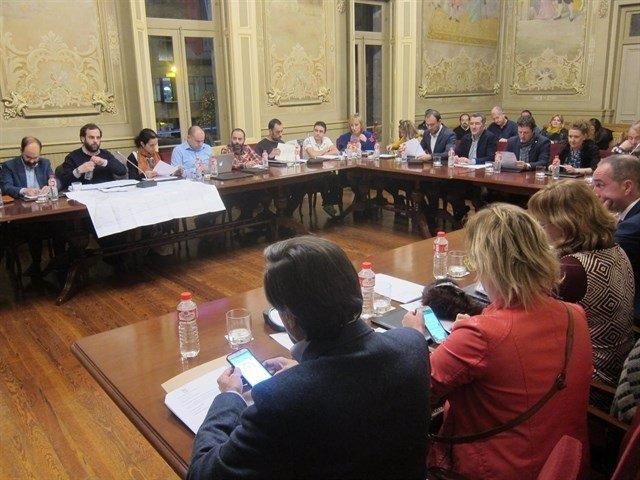 Pleno de Torrelavega (Archivo)