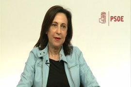 Margarita Robles critica que no se hablara de la gobernabilidad de España en el Comité Federal del PSOE