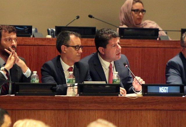 Fabián Picardo ante la ONU