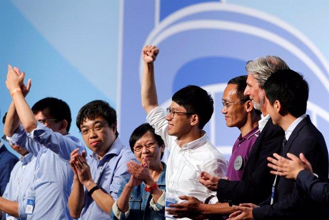 Líderes pro democracia logran escaños en el Parlamento de Hong Kong