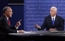 Kaine centra el debate con Pence en la negativa de Trump a publicar su renta
