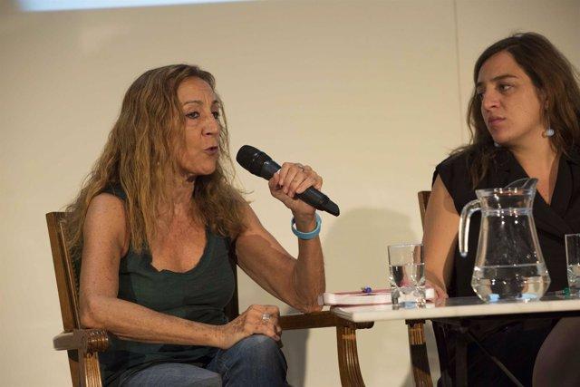 Carmen Portaceli junto a Celia Mayer