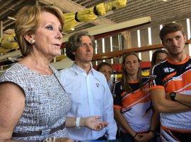 Aguirre no tiene dudas de que Rajoy será presidente y añade que el PP tendrá que pensar en un nuevo líder cuando no esté
