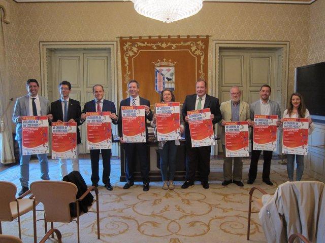 Presentación oficial de la carrera en el Ayuntamiento de Salamanca
