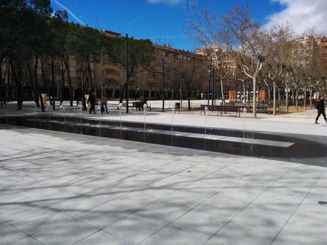 Nueva fuente de la Plaza Primero de Mayo