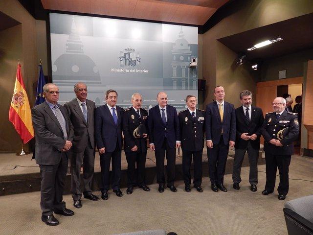 Toma de posesión de comisarios de Policía Judicial y Extranjería
