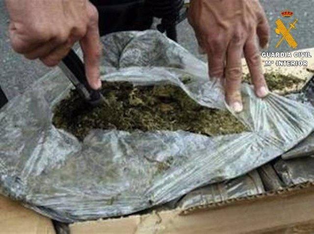 Marihuana interceptada
