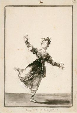 """""""Cuidado Con Ese Paso"""", Obra De Francisco De Goya Y Lucientes"""