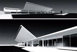 Imagen virtual de la nueva estación de Mollerussa