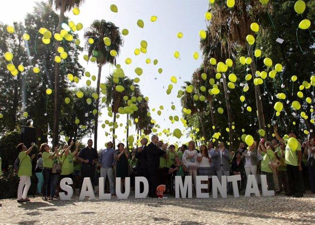 Durán participa en el acto para reivindicar derechos de los enfermos mentales
