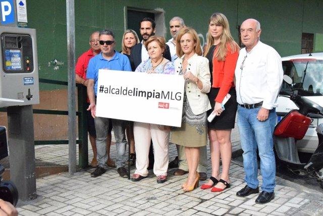 (Con AUDIOS Y FOTOS) El PSOE De Málaga Se Moviliza Para Exigir Al PP En Todos Lo