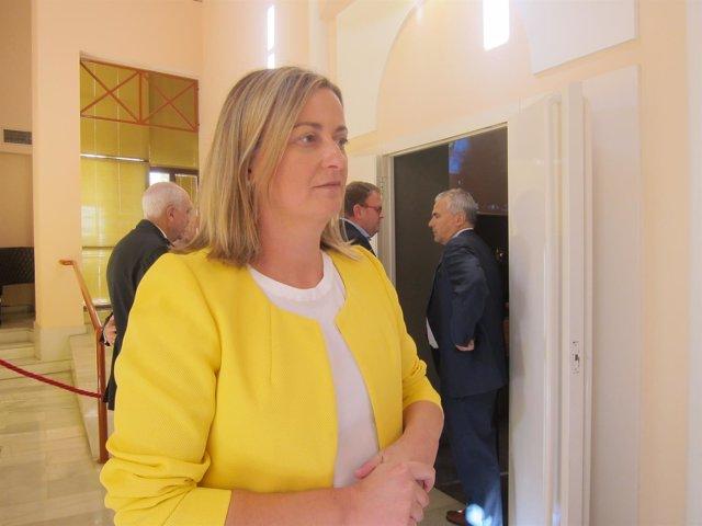 Presidenta de la Asamblea de Extremadura, Blanca Martín