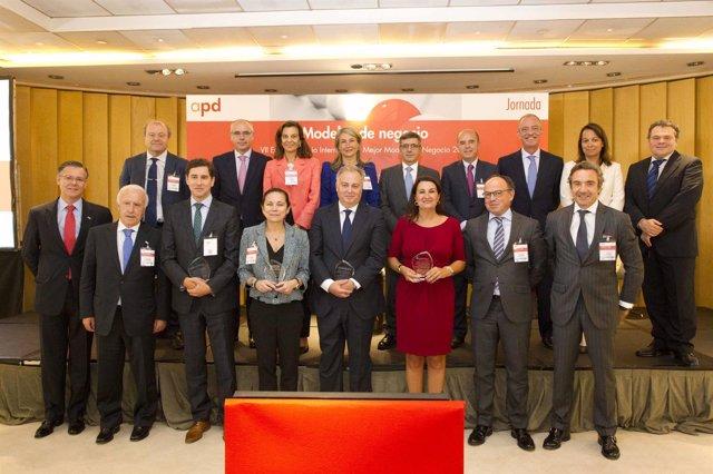 Entrega de premios de la Asociación para el progreso de la Dirección