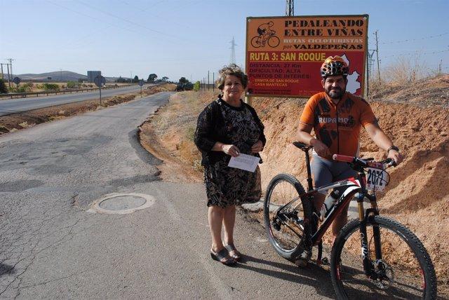 """Ndp """"San Roque"""", La Tercera Ruta Ciclo Turista De Valdepeñas Valdepeñas"""
