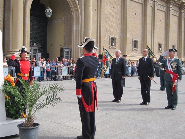 La Guardia Civil ha celebrado hoy el día de su patrona, la Virgen del Pilar