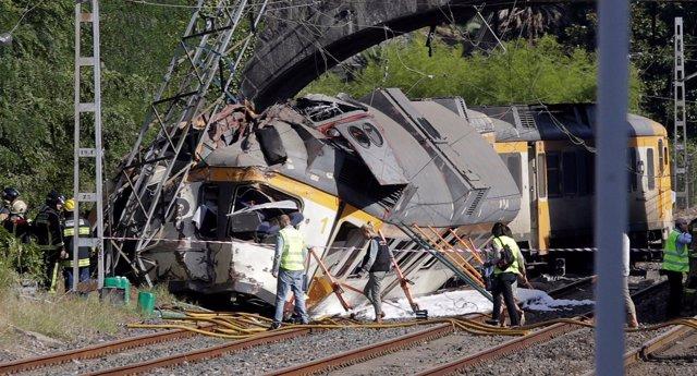 Accidente de tren en O Porriño, Pontevedra