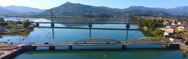El Puente de Treto tras su rehabilitación