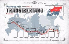 100 años del tren Transiberiano: 5 cosas que quizás no sabías de esta mítica línea