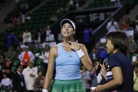 Muguruza sigue alicaída y cae ante Kvitova en Pekín
