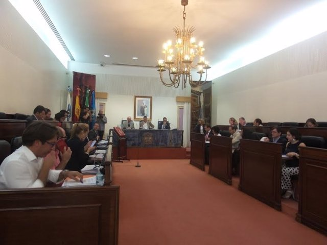 Pleno de Diputación de Huelva del mes de octubre.