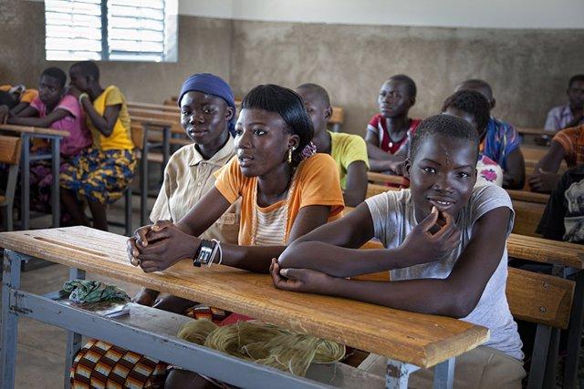 Escuela en Burkina Faso