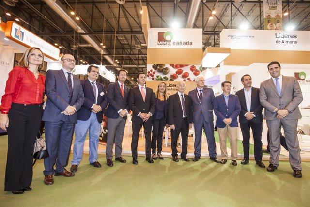 Diputación arropa a las empresas almerienses presentes en 'Fruit Attraction'.