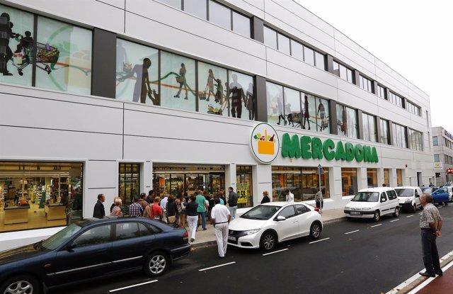 Supermercado Mercadona.