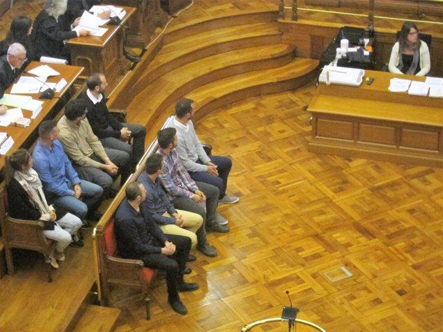 Juicio a los mossos acusados del homicidio de Andrés Benítez