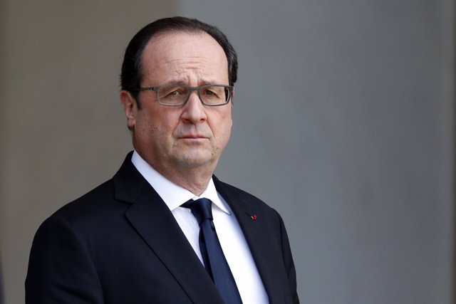 El presidente de Francia, François Hollande