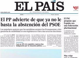 Las portadas de los periódicos de hoy, jueves 6 de octubre de 2016