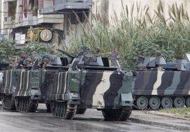 Detenidos en Líbano siete sirios por sus lazos con grupos terroristas que operan en Siria