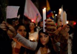 Miles de colombianos inundan las calles para pedir que se concrete un acuerdo de paz