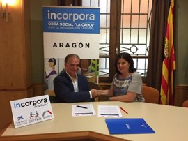 "Alcorisa se une al programa Incorpora de la Obra Social ""la Caixa"""