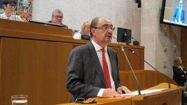 Lambán anuncia la creación de Aragón Plataforma Logística