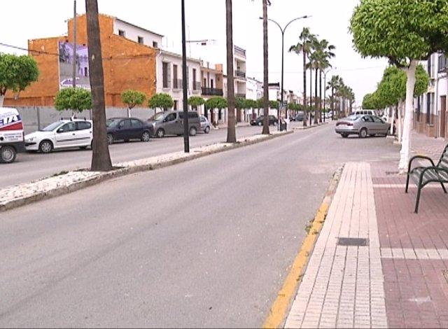 Una calle de Pedrera