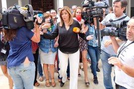 """Susana Díaz: """"Soy capaz de defender al mismo tiempo"""" los intereses de Andalucía y España"""