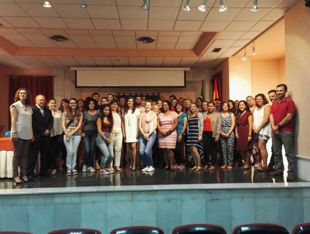 Recepción a los auxiliares de conservación de la provincia de Jaén.